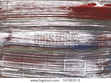 Hand-drawn abstract watercolor background. Used colors: White Wenge Dark liver Deep Taupe Granite Gray Snow Sonic silver Bright gray Dark puce Davys grey