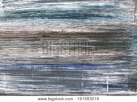 Hand-drawn abstract watercolor background. Used colors: White Black Coral AuroMetalSaurus Davys grey Sonic silver Spanish gray Outer Space Gray Roman silver