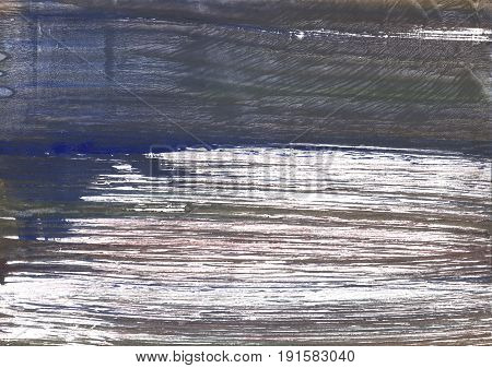 Hand-drawn abstract watercolor background. Used colors: Davys grey Outer Space White Independence Quartz Granite Gray Charcoal Dim gray Dark liver Wenge