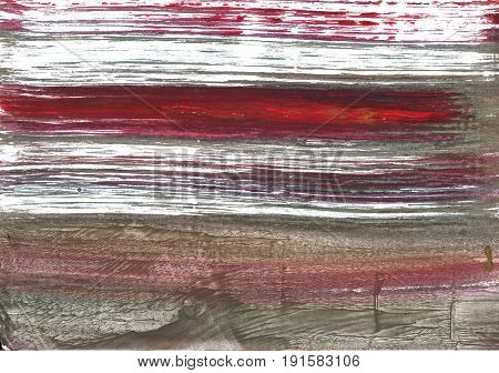 Hand-drawn abstract watercolor background. Used colors: White Wenge Dark liver Grullo Umber Sonic silver Middle Grey Deep Taupe Granite Gray Pastel brown