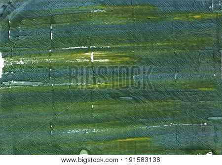 Hand-drawn abstract watercolor background. Used colors: Deep moss green Fern green Kombu green Dark slate gray Gray-asparagus Hookers green Feldgrau Axolotl