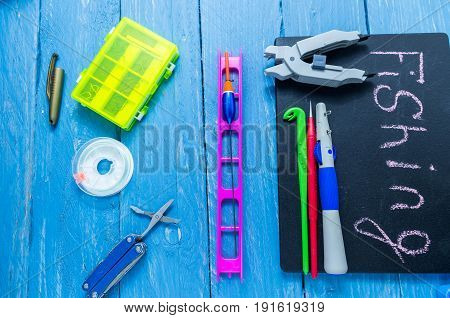 Fishing Tools. Fisherman's Tools. Accessories For Fishing.