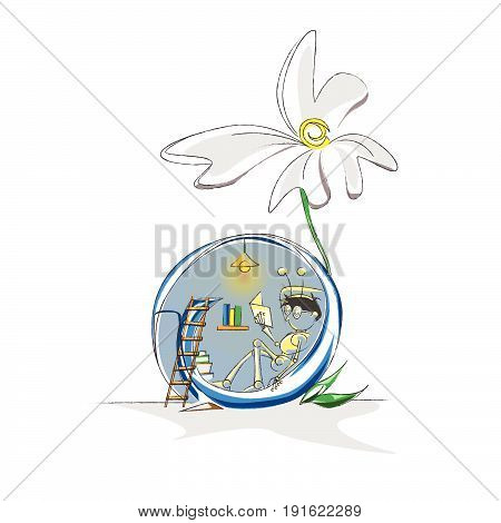 Clip art Snail Alone Learn Creative Desighn