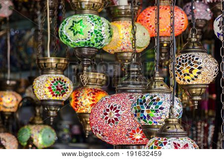 Arabic interior decorative lamps oriental traditional souvenirs