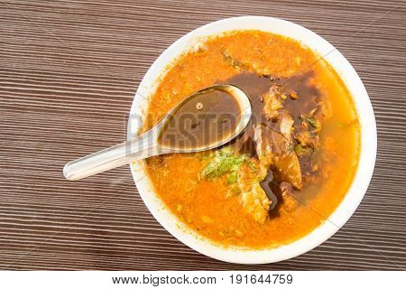 Asam Laksa, Popular Penang Noodle With Prawn Paste