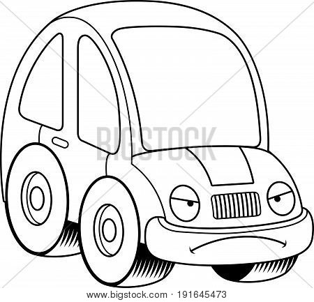 Mad Cartoon Car