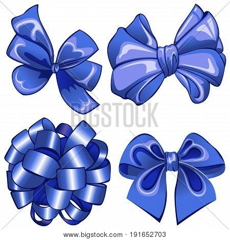 Set With Blue Bows