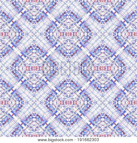 Futuristic Check Seamless Pattern
