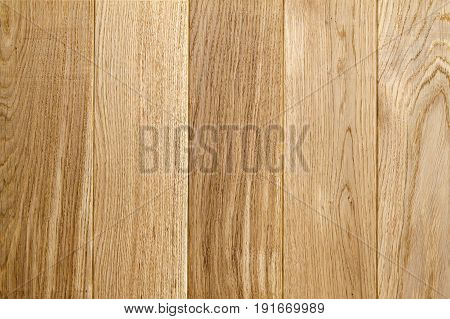 Old Wooden Yellow Or Brown Texture Background. Boards Or Panels Horisontal  Image