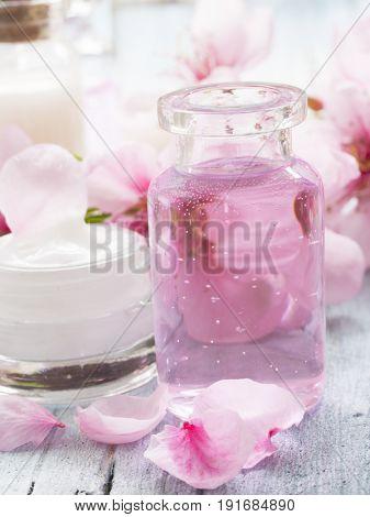natural cosmetics, fresh as spring