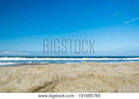 The Baltic Sea from the shore of the Kaliningrad Region