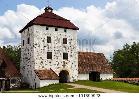 Hovdala Castle Is A Castle In Hassleholm Municipality, Scania, Sweden