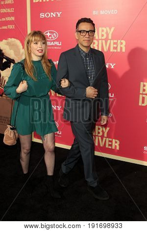 LOS ANGELES - JUN 14:  Natasha Lyonne, Fred Armison at the