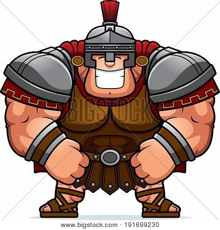 Cartoon Roman Centurion