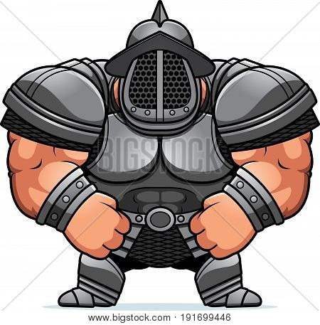 Cartoon Gladiator Armor