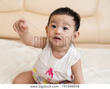 Portrait of beautiful Asian Chinese baby