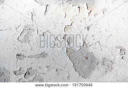 Old vintage crack wall background