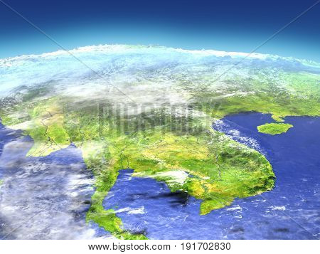Indochina From Space