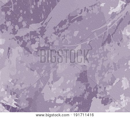 gray, background with marble effect Drawing with spirals and splashes of color