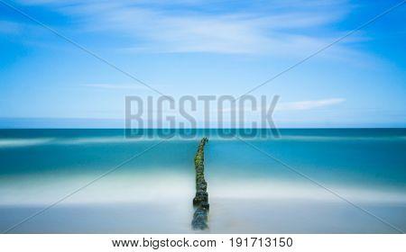Sea image (long exposure)