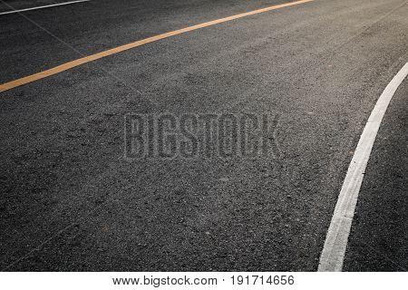 Asphalt road close up background, Asphalt road.