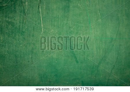 Blank greenboard with chalk traces, Blackboard background.