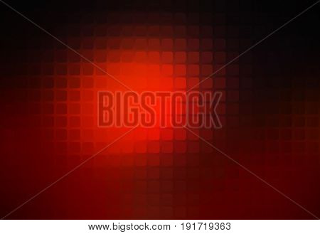 Red Brown Black Abstract Rounded Mosaic Background