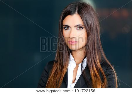 Young businesswoman