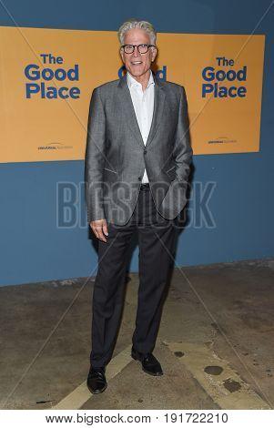 LOS ANGELES - JUN 12:  Ted Danson arrives for