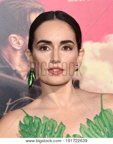 LOS ANGELES - JUN 14:  Ana de la Reguera arrives for the