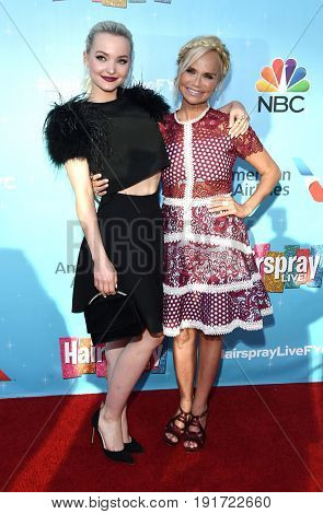 LOS ANGELES - JUN 09:  Dove Cameron and Kristin Chenoweth arrives for the