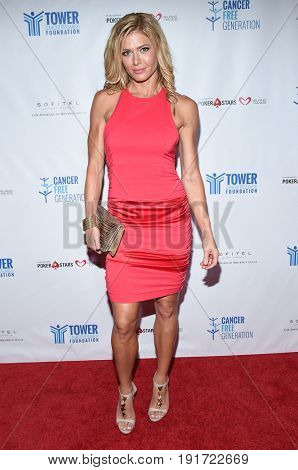 LOS ANGELES - JUN 03:  Torrie Wilson arrives for the Ante Up of Cancer on June 3, 2017 in Beverly Hills, CA