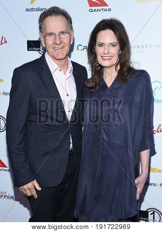 LOS ANGELES - JUN 01:  Sally Bell and Roger Bell arrives for the 9th Annual Heath Ledger Scholarship Dinner on June 1, 2017 in West Hollywood, CA