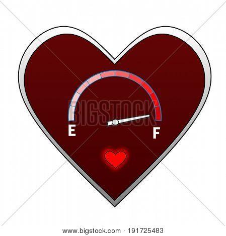 Love level indicator