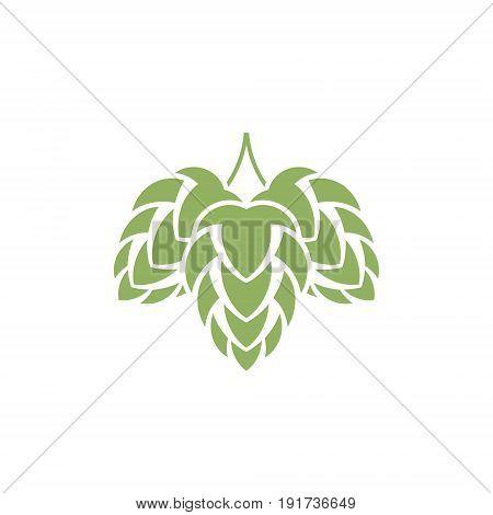 Hop. Isolated icon on white background. (EPS)