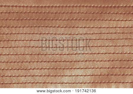 Orange retro stitched leather - creative still for any purpose