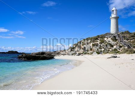 Lighthouse on Rottnest Island