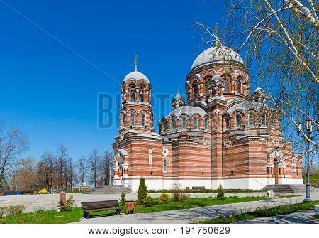 Temple of a blessed Trinity in Kolomna city