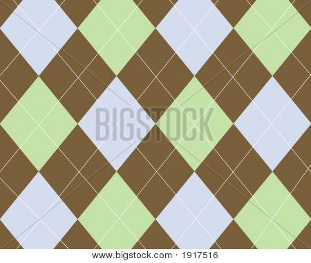 Brown Green Blue Argyle Copy