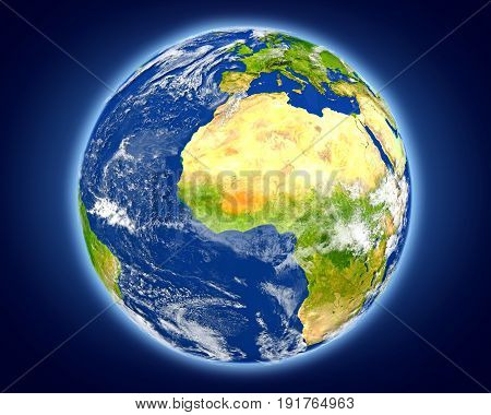 Burkina Faso On Planet Earth