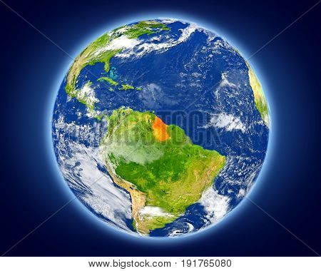 Guyana On Planet Earth