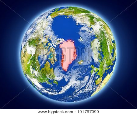 Greenland On Planet Earth