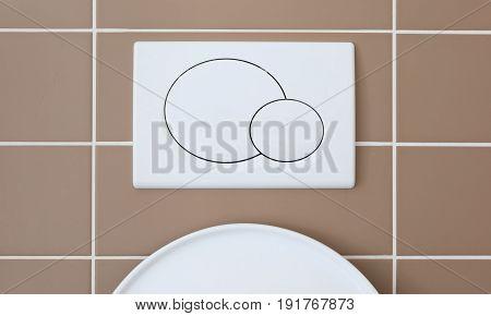Economic Toilet Flush Press