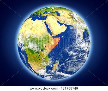 Somalia On Planet Earth