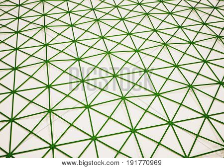 Dimensional abstract geometric polygon backdrop. 3D rendering.