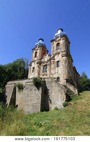 Abandoned church of the Visitation - Skoky, Czech republic