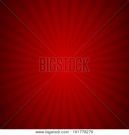 sunburst background red ray texture graphic Vector Illustration