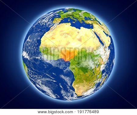 Nigeria On Planet Earth