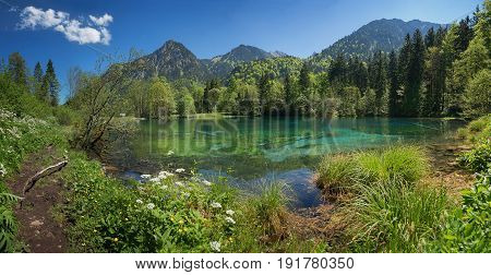 Beautiful Christlessee Near Oberstdorf