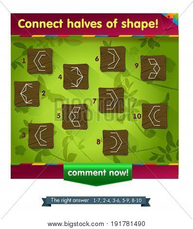 Shape Game For Children
